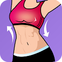 Flat Stomach Workout - Lose Belly Fat Exercise icon