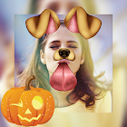 Halloween Stickers & Filters Photo Collage Editor icon