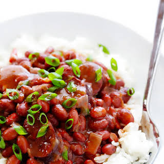 Crock Pot Red Beans and Rice.