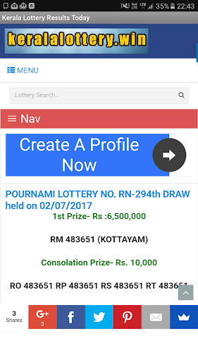 Download Kerala Lottery Results Today APK latest version App