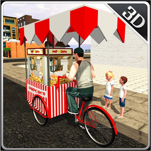 Popcorn Hawker 3D Simulator