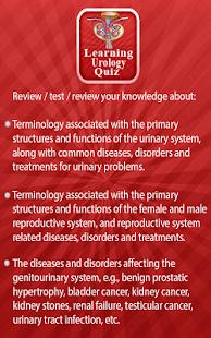 Learning Urology Quiz - Apps en Google Play