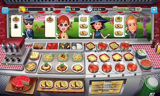Food Truck Chef Cooking Game