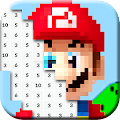 Color by Number: Gaming Pixel Art