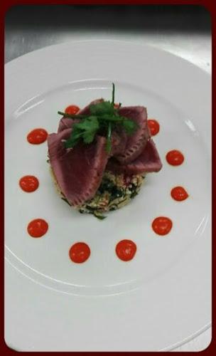 Mi cuit de thon rouge et son taboulé maison