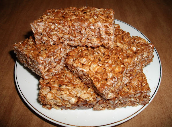 Chocolate Flavored Rice Krispie Bars Recipe