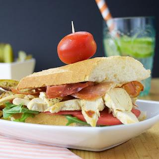 Spanish Club Sandwich.