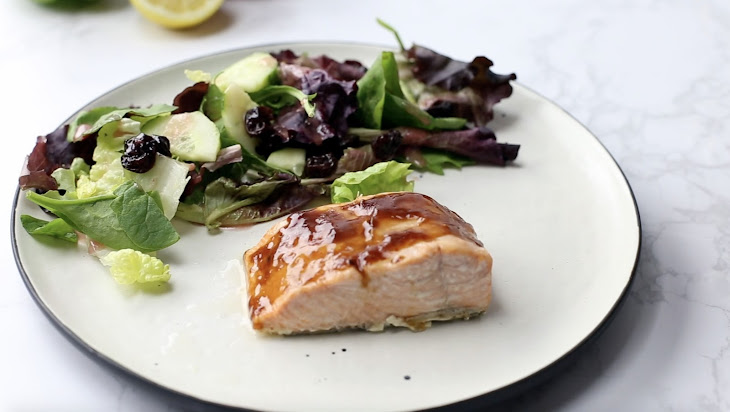 BBQ Broiled Salmon Recipe