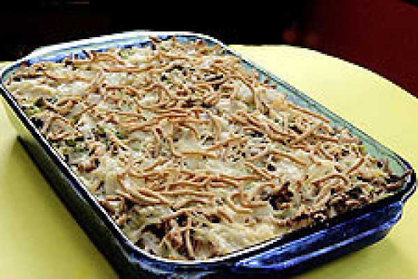 Chicken Chow Casserole Recipe