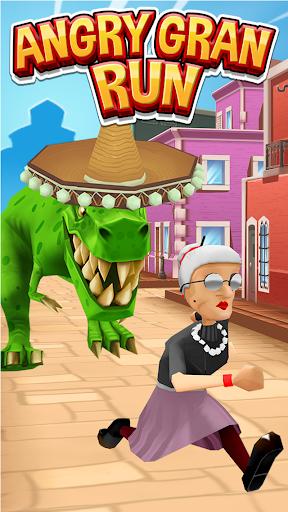Angry Gran Run - Running Game  captures d'u00e9cran 1