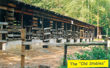 Photo: Here's a shot of the old horseback facilities, we're very happy to have our current state-of-the-art riding stables!