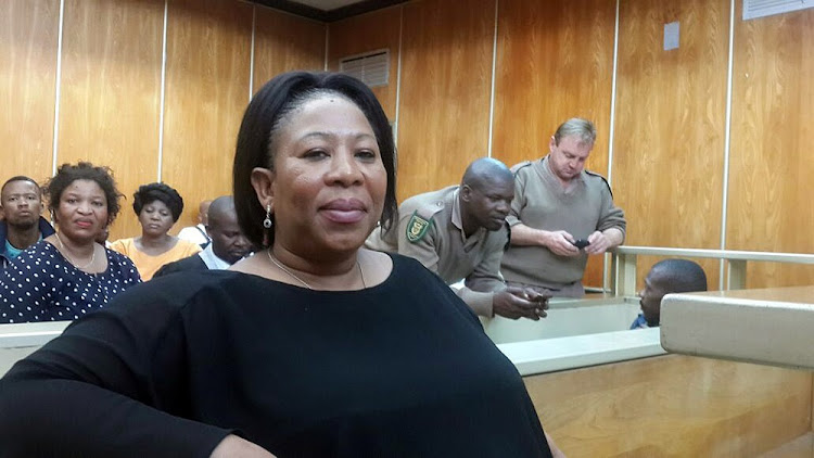 FILE PICTURE: SEPTEMBER 27, 2016 Zukisa Faku in the accused dock in the East London Regional Court.