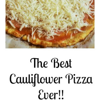The Best Cauliflower Pizza Crust.