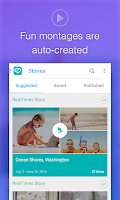 Screenshot of RealTimes Video Collage Maker