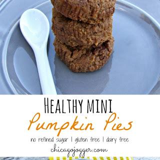 Healthy Mini Pumpkin Pies