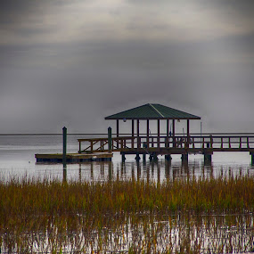 Dock by Keith Wood - Buildings & Architecture Other Exteriors ( kewphoto, hdr, marsh, dock, keith wood )