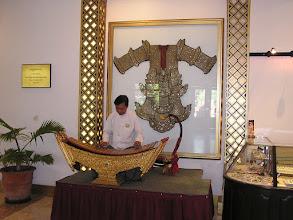 Photo: 4B241571 Birma - Rangun - koncert podczas sniadania