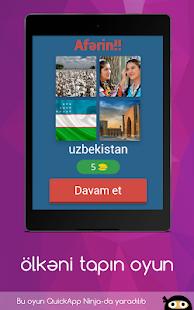 Ölkəni tapın - məlumatlı oyun azərbaycan dilində for PC-Windows 7,8,10 and Mac apk screenshot 7