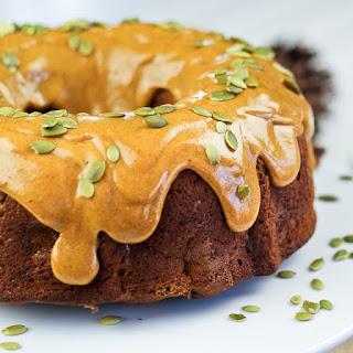 Spicy Pumpkin and Apple Bundt Cake.
