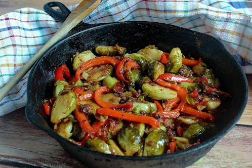 Smokin' Brussels Sprouts