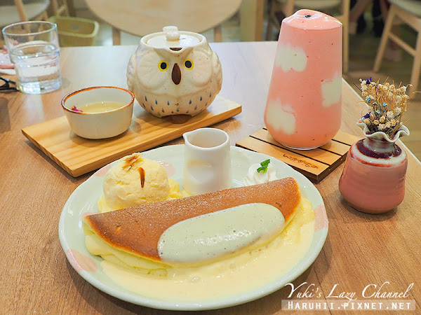woosaパンケーキ 屋莎鬆餅屋 高雄遠百店