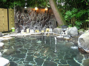 Photo: Onsen du Ryokan Tenseien à Hakone au Japon