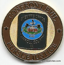 Photo: Carroll County Sheriff, Challenge Coin (Reverse)