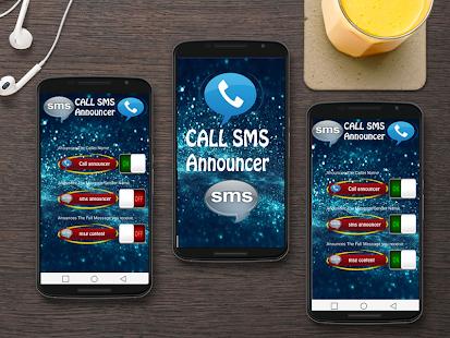 Call hlasatel & Speaking SMS - náhled
