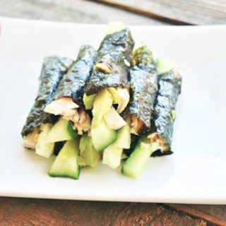 Low Carb Sushi Snack Rolls.