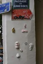 Photo: Street art - Grego -Paris XVIIIe - passage des abbesses
