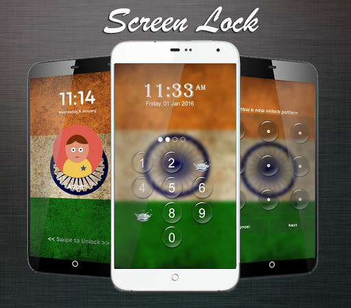 Screen Lock Theme : India