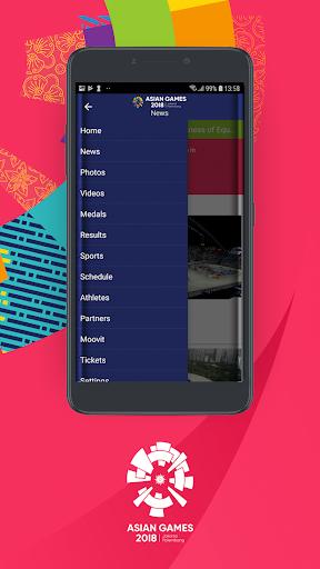 18th Asian Games 2018 Official App 1.0.2 screenshots 2