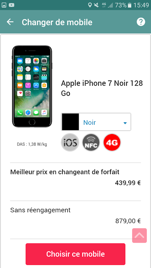 NRJ Mobile- screenshot