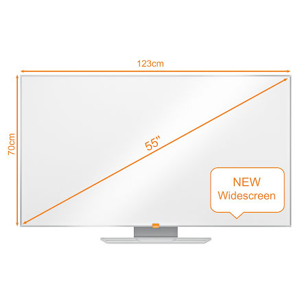 Whiteboard Nobo Widescreen 55""