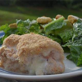 Easy Baked Chicken Cordon Bleu.