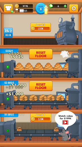 Télécharger Gratuit The Bakery Factory APK MOD (Astuce) screenshots 1