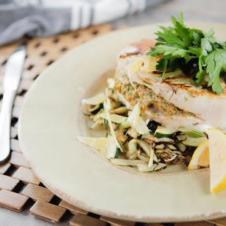 Mediterranean Stuffed Swordfish Recipe