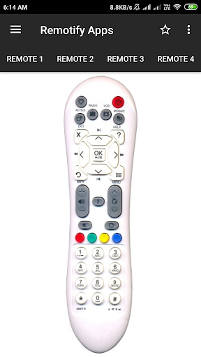 Videocon d2h Remote Control (8 in 1) screenshots 1