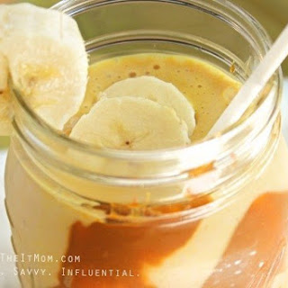 Dulce De Leche Banana Smoothie