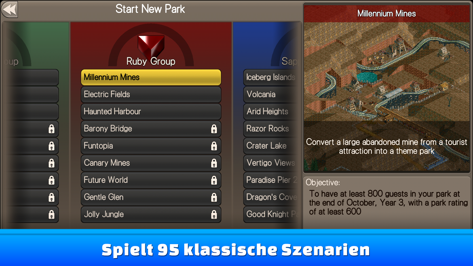 RollerCoaster Tycoon® Classic – Screenshot