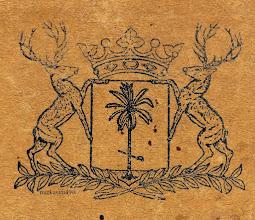 Photo: Lambang Kota Makassar 1932-1953, ditetapkan dalam Verordening totvaststelling van het wapen der Gemeente Macassarvan 30 Juni 1931 afgekondigd in het E.B ddo,10 Februari 1932 Nomor 7 (Javasche Courant Nomor 11). http://nurkasim49.blogspot.com/2011/12/iii.html