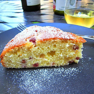Patricia Wells' Champagne Grape Cake