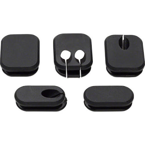 Salsa Thin Frame Plugs for Internal Cable Routing 5-pack
