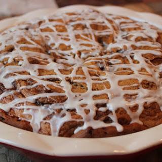 Cinnamon Coffee Cake Pie Recipe