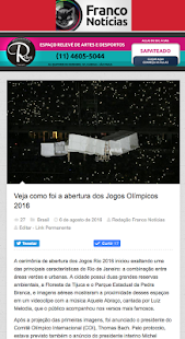 Jornal Franco da Rocha- screenshot thumbnail