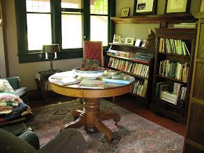 Photo: Day 6: Book nook at the Kangaroo House B&B.