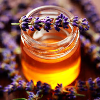 Lavender Honey Ice Cream.