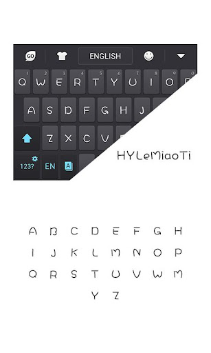 HYLeMiaoTiW Font