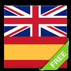 Offline English Spanish dictionary icon