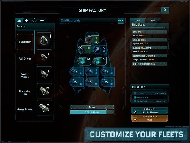 android VEGA Conflict Screenshot 3